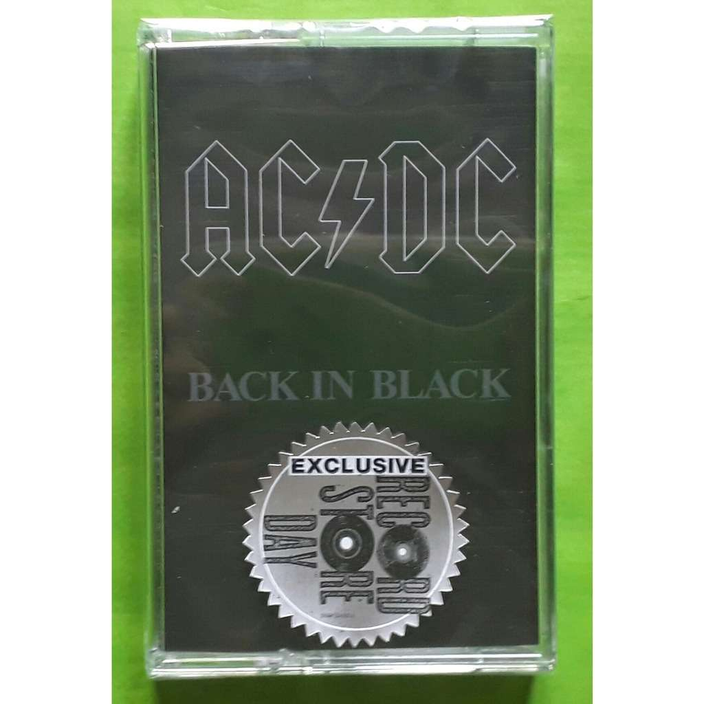 AC/DC BACK IN BLACK-(Limited édition)(Album cassette)(Record store day  2018)(Sony)(Germany)