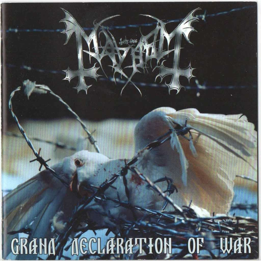 grand declaration of war de mayhem cd con dimotchka ref