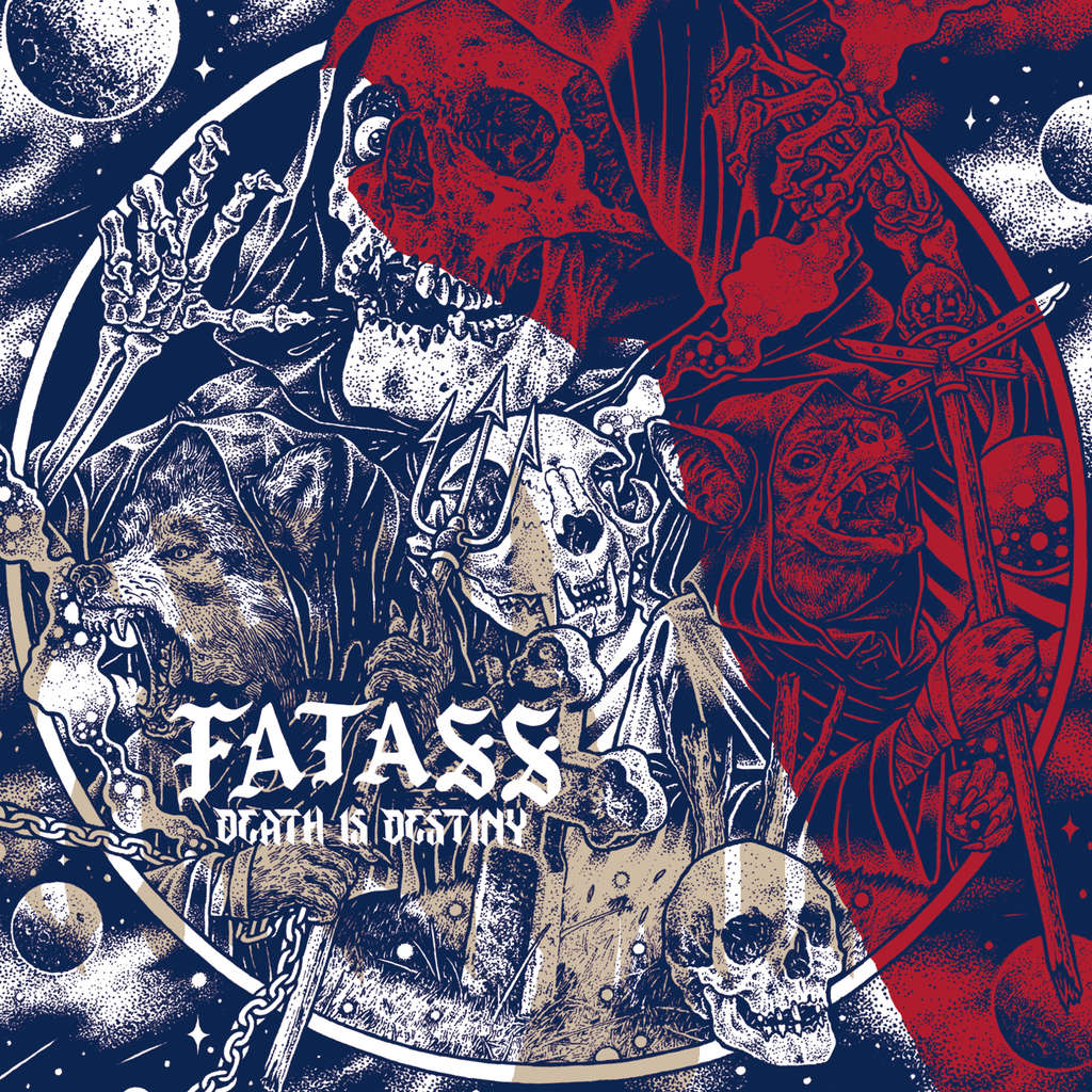 KNIVES OUT RECORDS : FATASS Death Is Destiny - CD