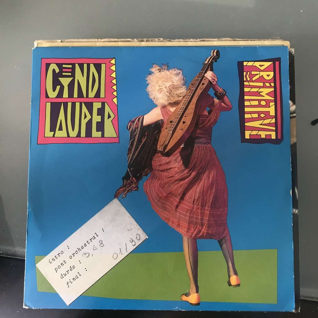 LAUPER CYNDI PRIMITIVE / GIRLS JUST WANT TO HAVE FUN