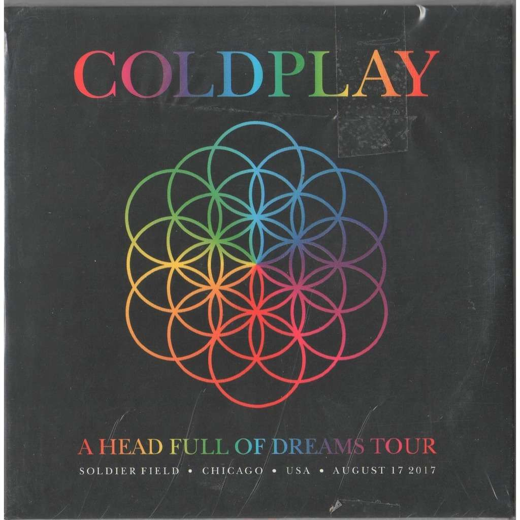 Coldplay / Shakira A Head Full Of Dreams Tour (Chicago Soldier Field USA 17.08.2017 etc.)