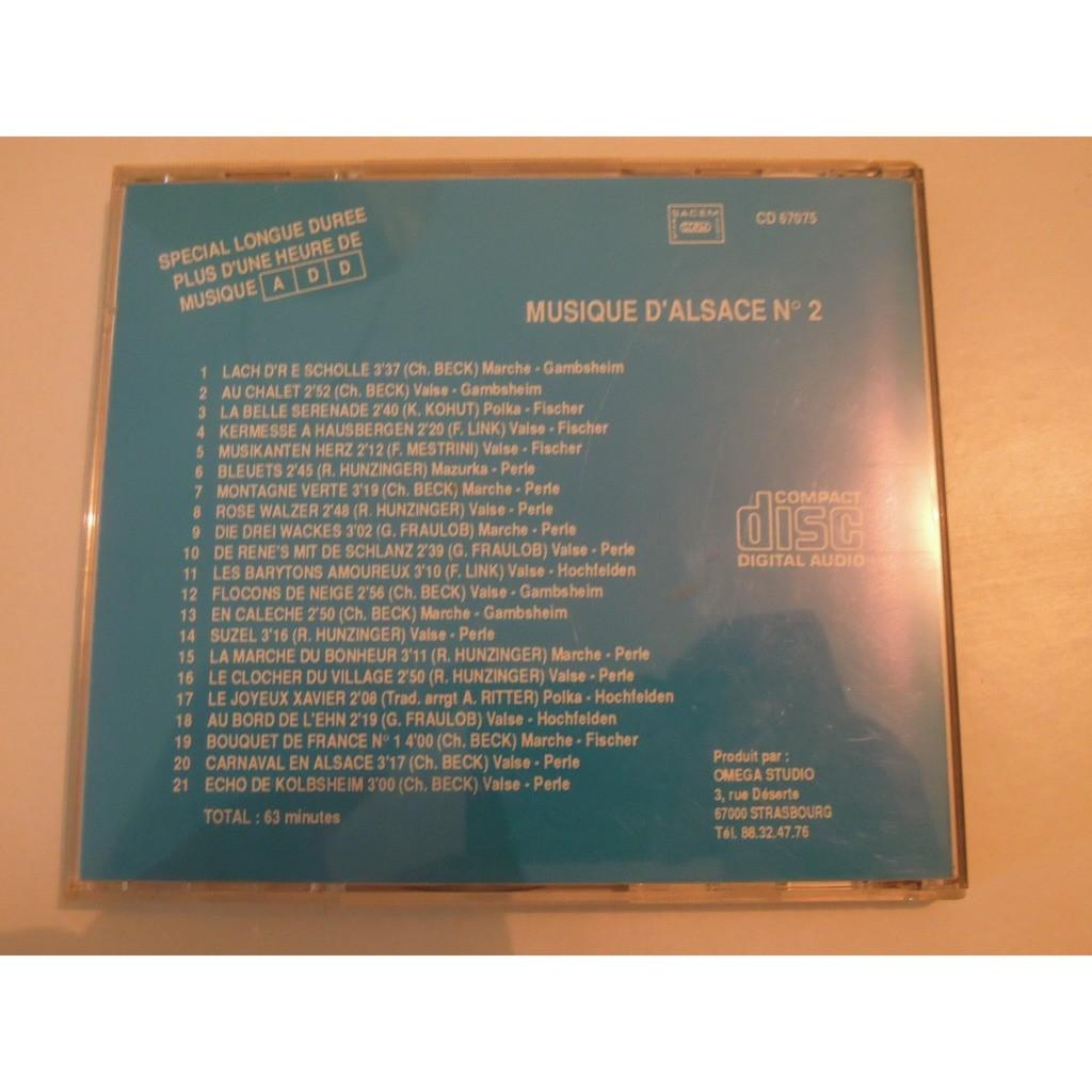 orchestre hochfelden, gambsheim, fischer kapell musique d'alsace n°2