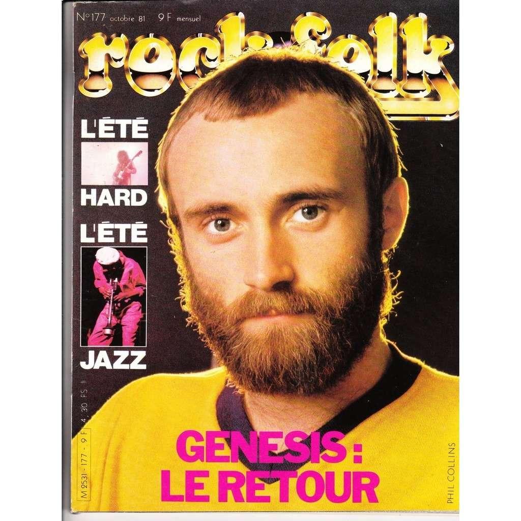 ROCK & FOLK N°177-octobre 1981