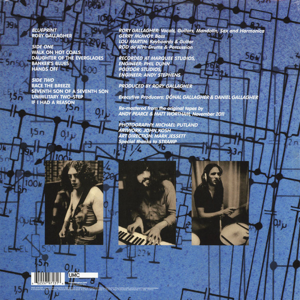 Rory Gallagher Blueprint (lp)