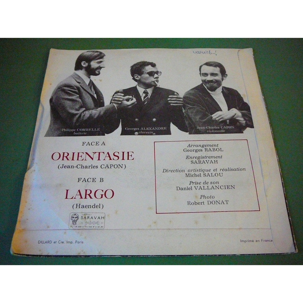 BAROQUE JAZZ TRIO Orientasie - Largo