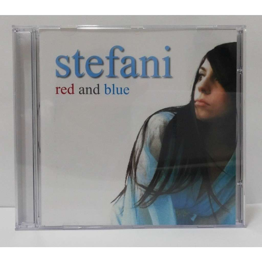 lady gaga Stefani - Red And Blue (Brazil release 2006)