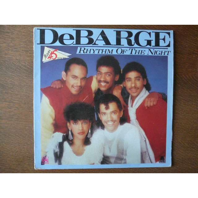 DEBARGE rhythm of the night - queen of my heart