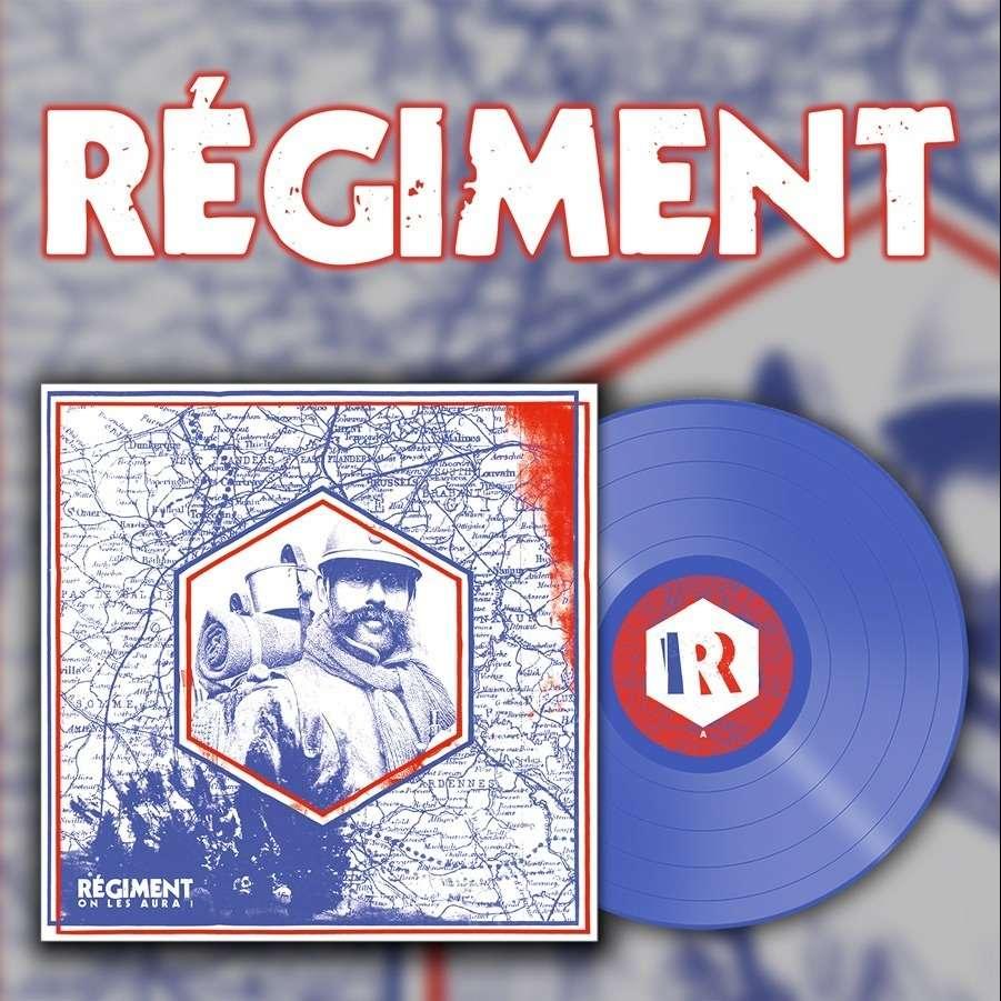 REGIMENT On les Aura! Blue Vinyl