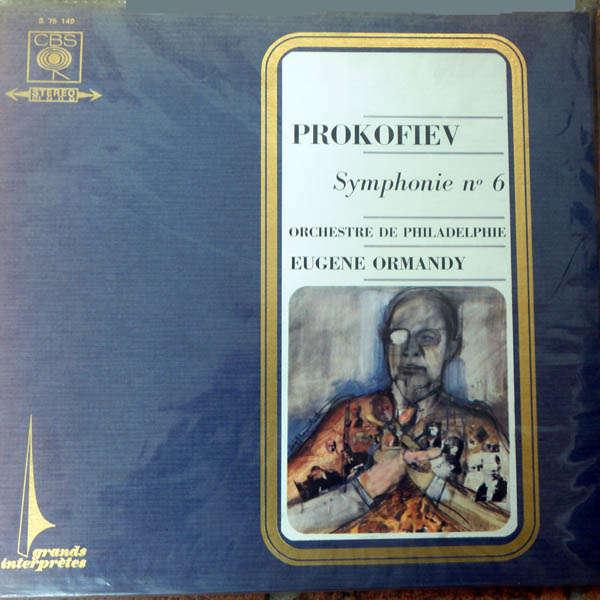 eugene ormandy Prokofiev : Symphonie n°6