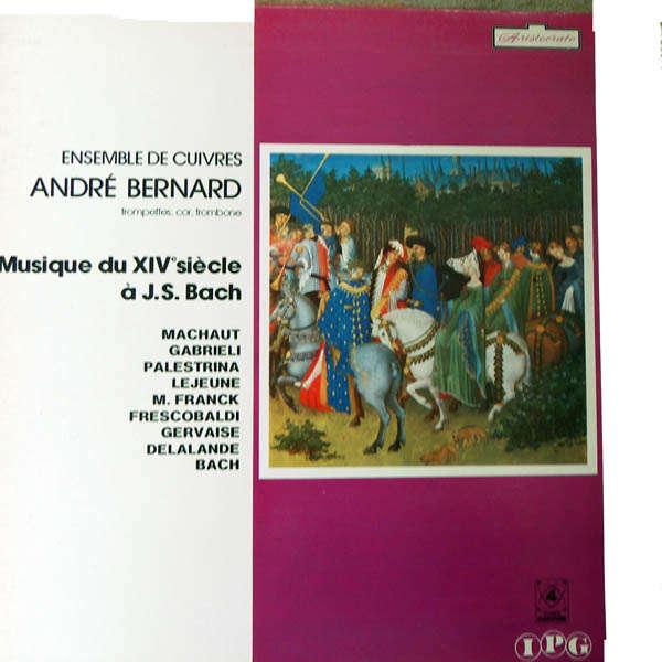 andre bernard Musiique du XIVème siècle