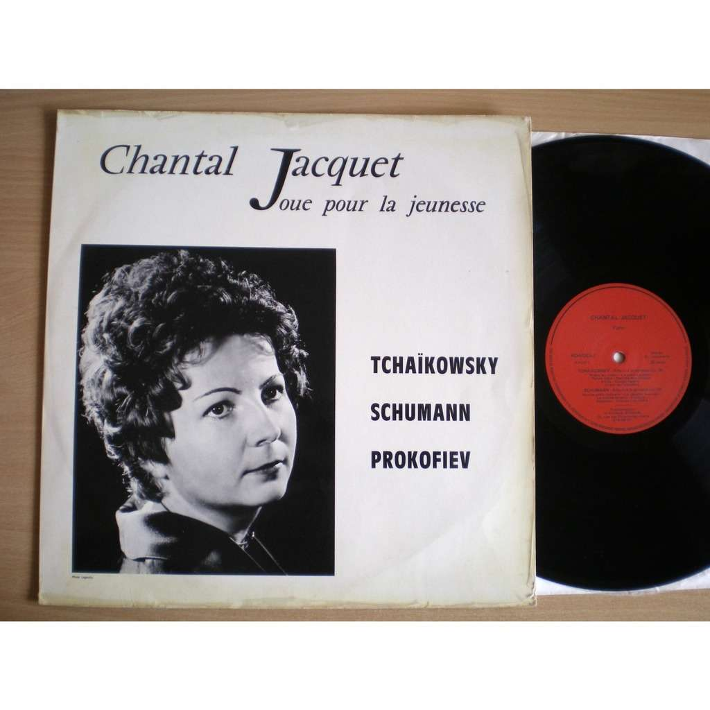 Chantal Jacquet Joue Pour La Jeunesse Tchaikowsky Schumann Prokofiev Album for the young Album Fur die jugend Piano