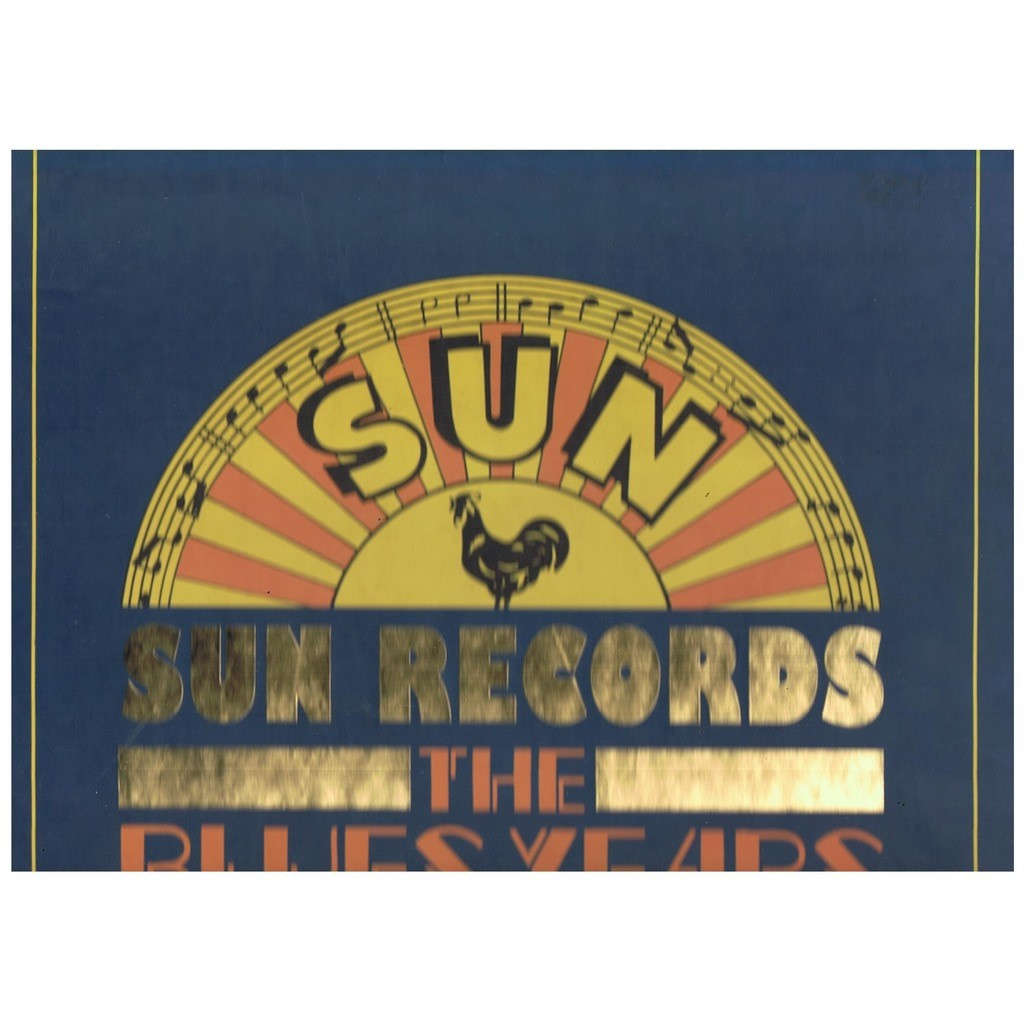 VARIOUS SUN RECORDS BLUES YEARS 1950-1958 -CD 6,7,8 + BOOKLET-