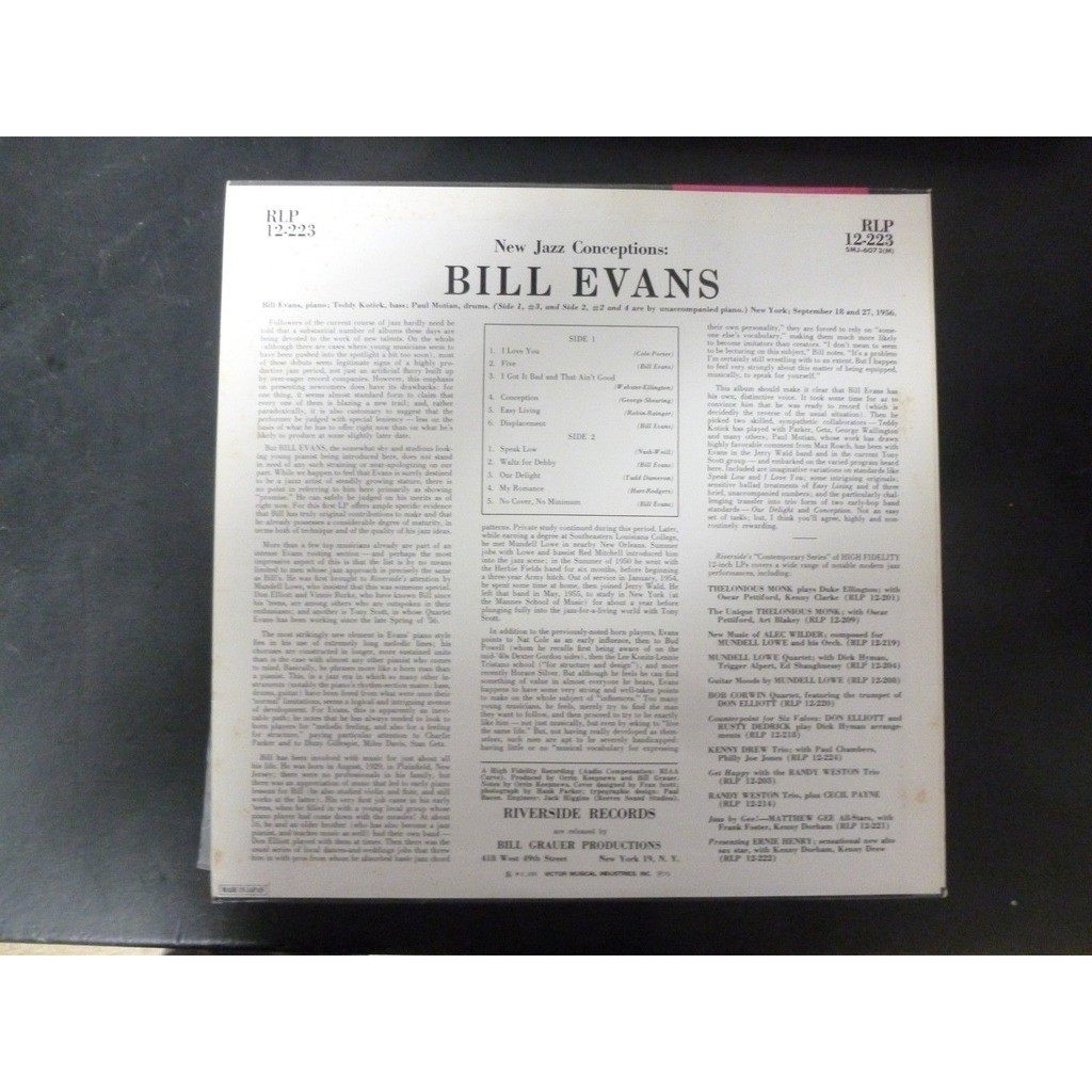 bill evanss effects on modern jazz essay In the liner notes to the album, pianist bill evans compared jazz improvisation to the art of calligraphy i remember at the time thinking that it was a gratuitous comparison, a trendy invoking of oriental exoticism.