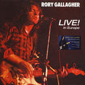 RORY GALLAGHER - Live! In Europe (lp) - LP