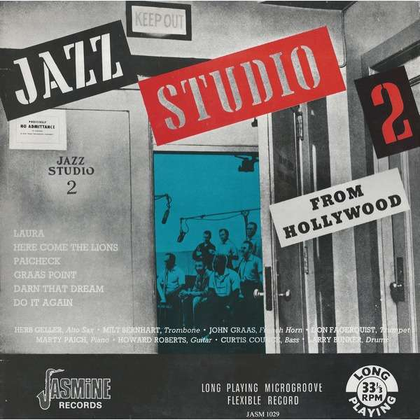 Herb Geller, Howard Roberts, Marty Paich ... Jazz Studio 2 From Hollywood