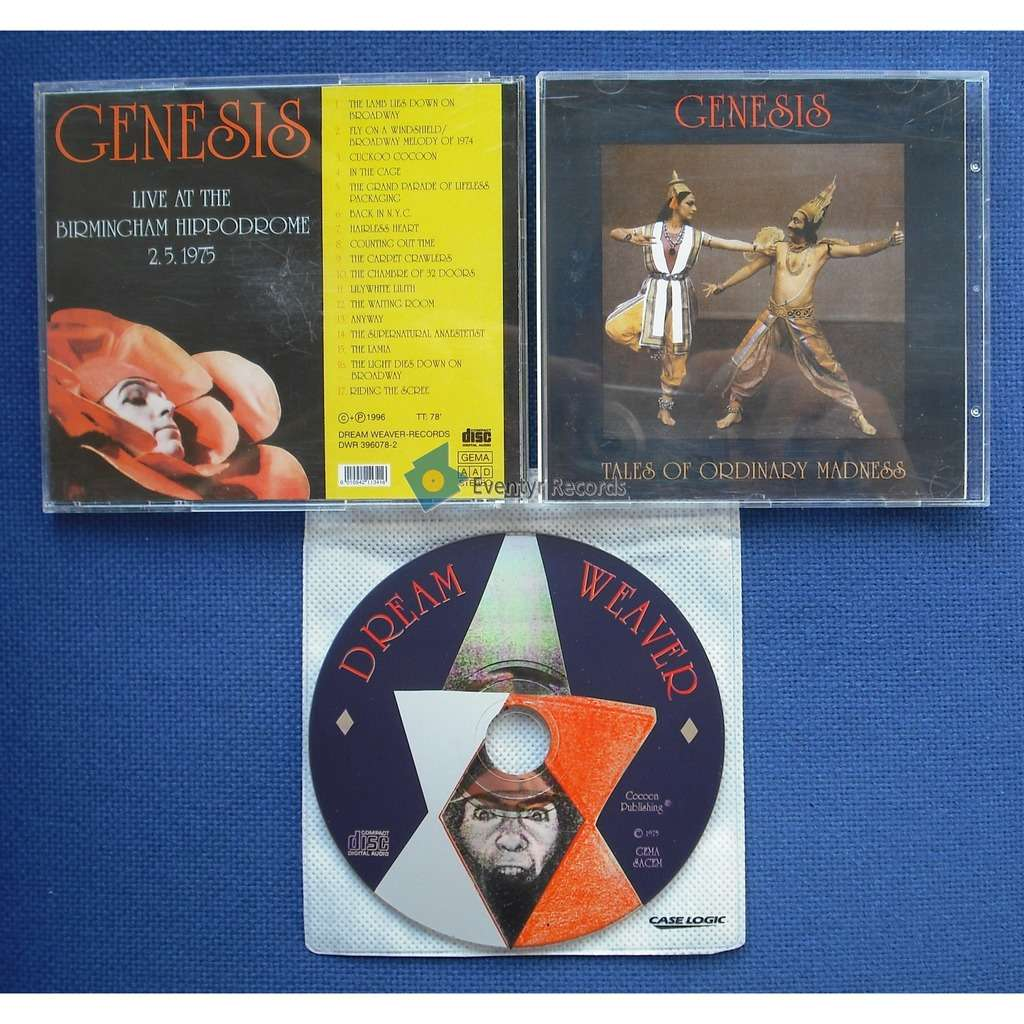 GENESIS TALES OF ORDINARY MADNESS (used)