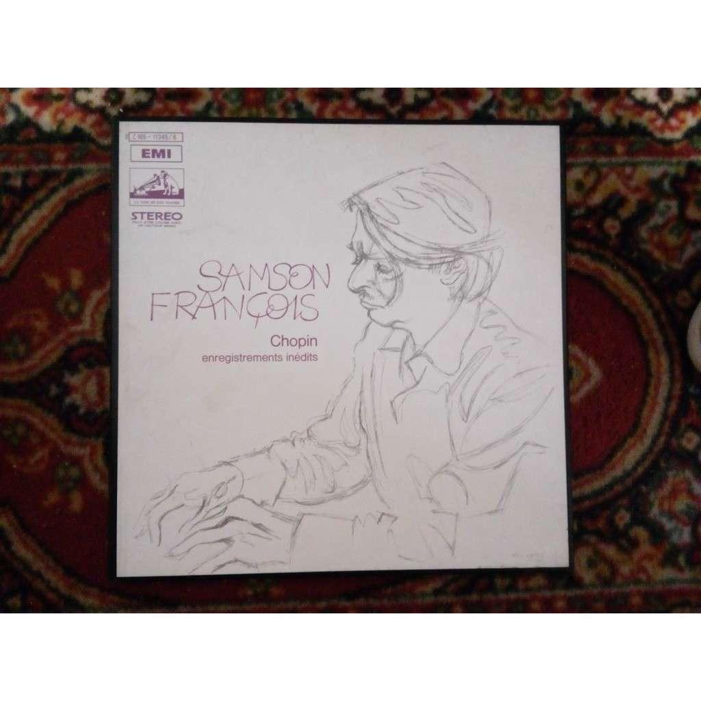 SAMSON FRANCOIS CHOPIN: enregistrements inedits