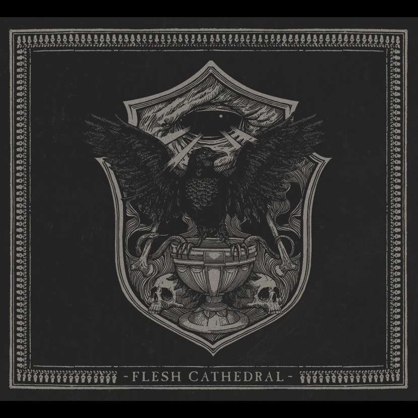 SVARTIDAUDI Flesh Cathedral. Smoke Vinyl