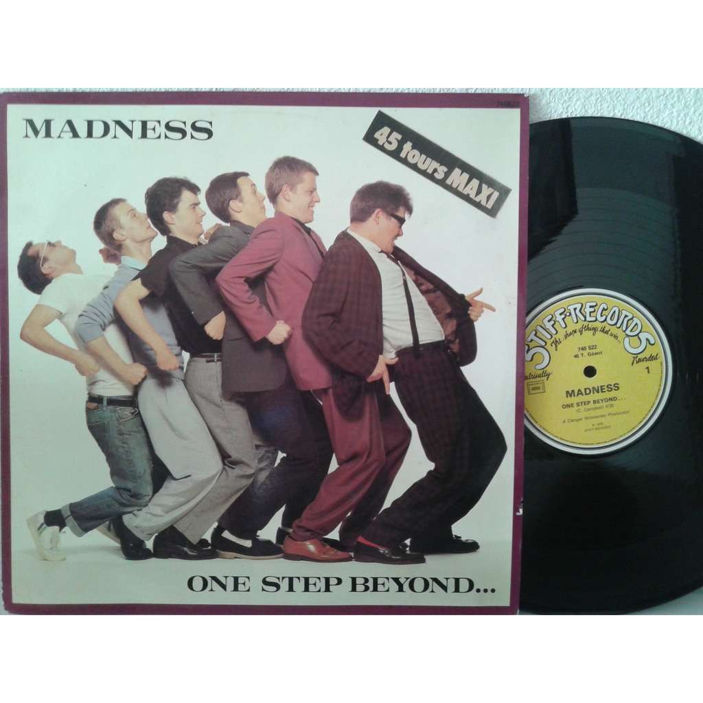 One step beyond / mistakes by Madness, 12inch with fiphi - Ref:118140393