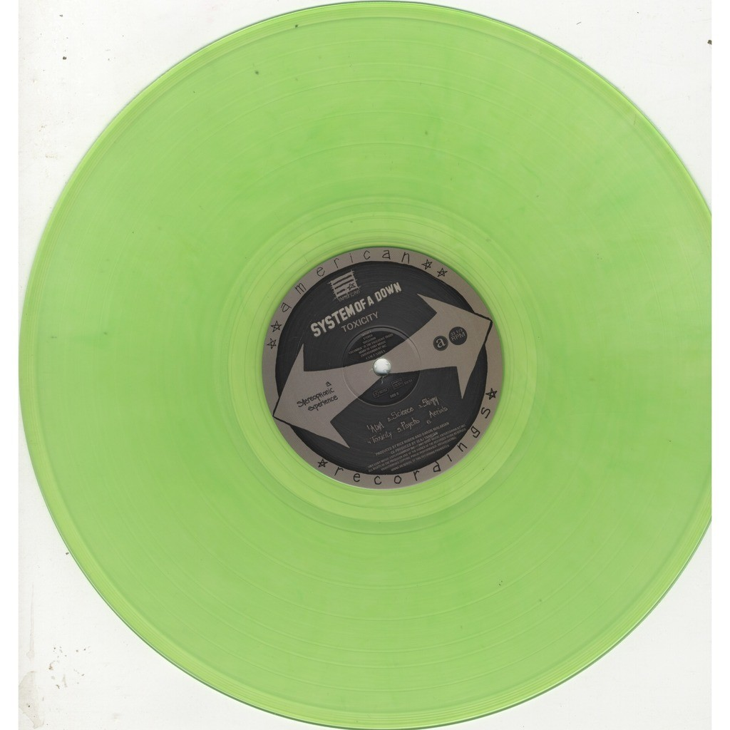 System of A down Toxicity green vinyl
