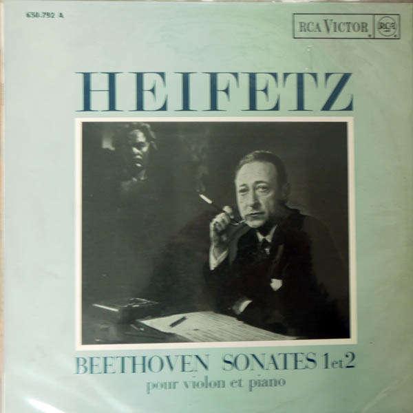 Jascha Heifetz beethoven : Sonates piano & violon