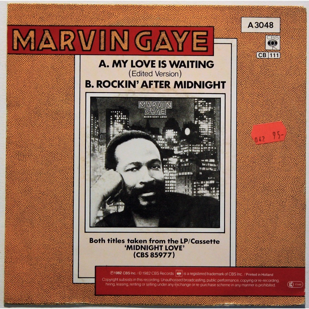 Marvin Gaye My love is waiting