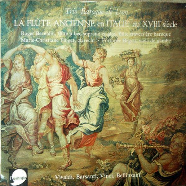 Trio Baroque de Lyon La flûte ancienne en Italie au XVIIIè siècle