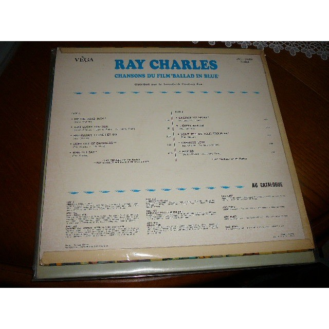 ray charles chansons du film: ballad in blue