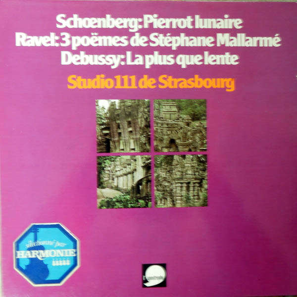 Studio 111 de Strasbourg Schoenberg, Ravel, Debussy