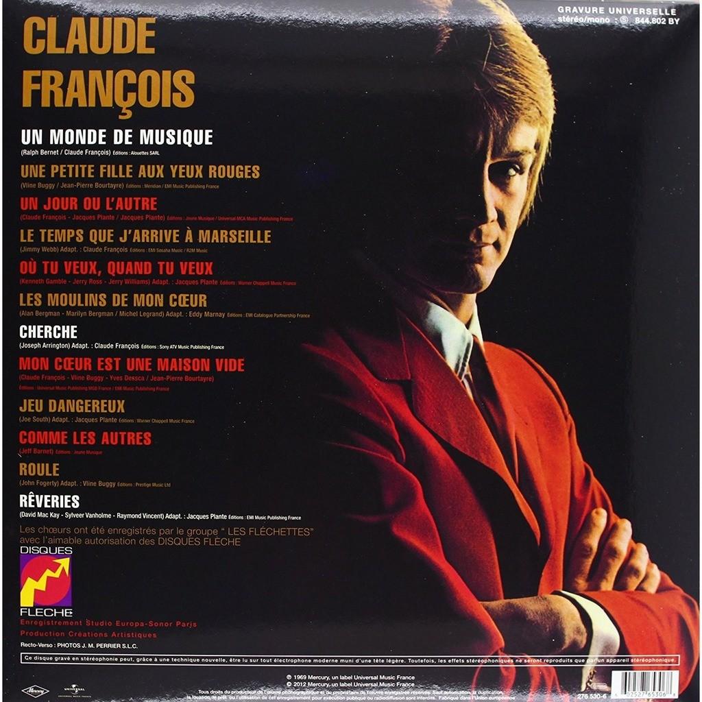 claude françois Un Monde De Musique, 180g