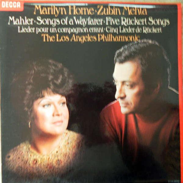 Marilyn Horne, Zubin Metha Malher : Songs of a Wayfarer