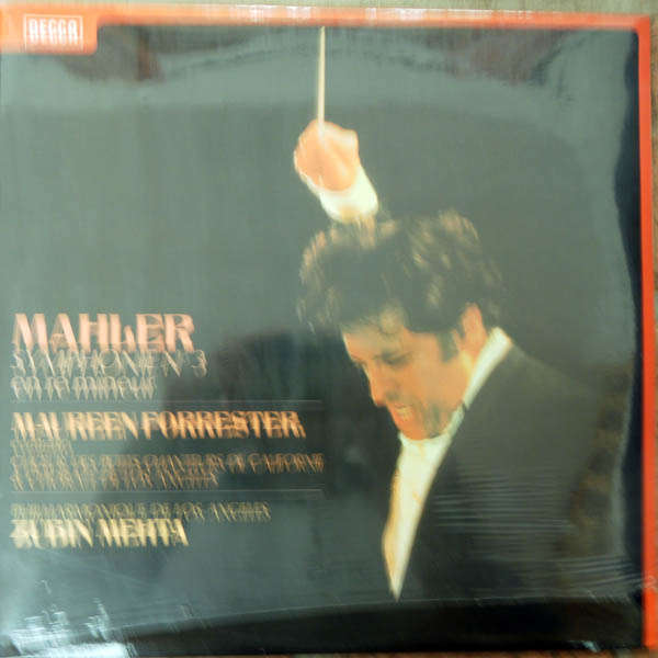 Maureen Forrester, Zubin Mehta Mahler : Symphonie n°3