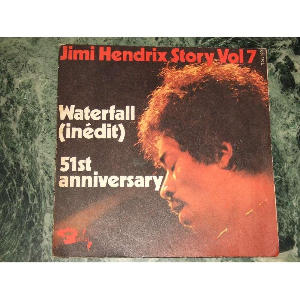 Jimi Hendrix Story Vol.7 - Waterfall, 51st Anniversary