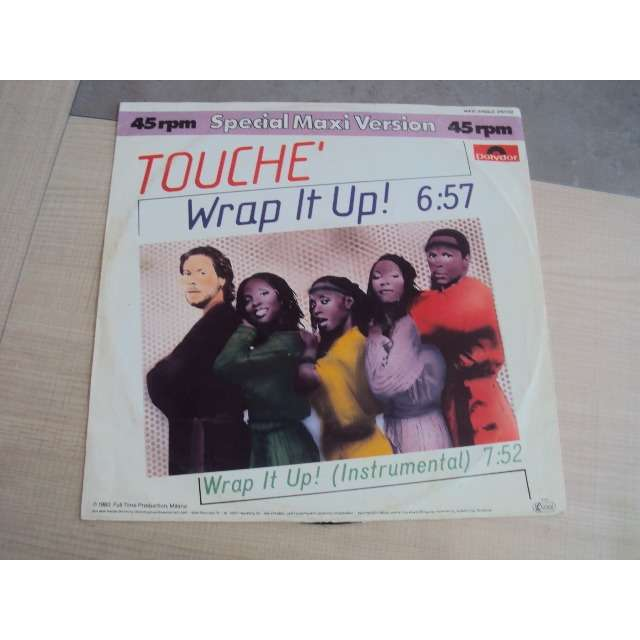 TOUCHE WRAP IT UP (VOCAL 6'57) 1983 GERMANY (MAXIBOXLP)