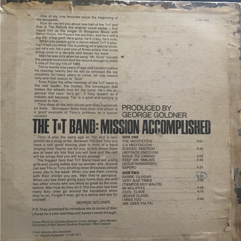 The TNT Band Mission accomplished
