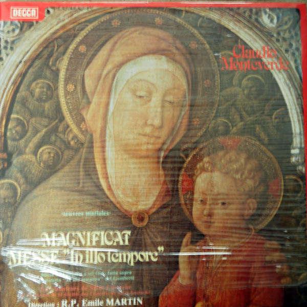 R.P.Emile Martin Claudio Monteverde : Magnificat