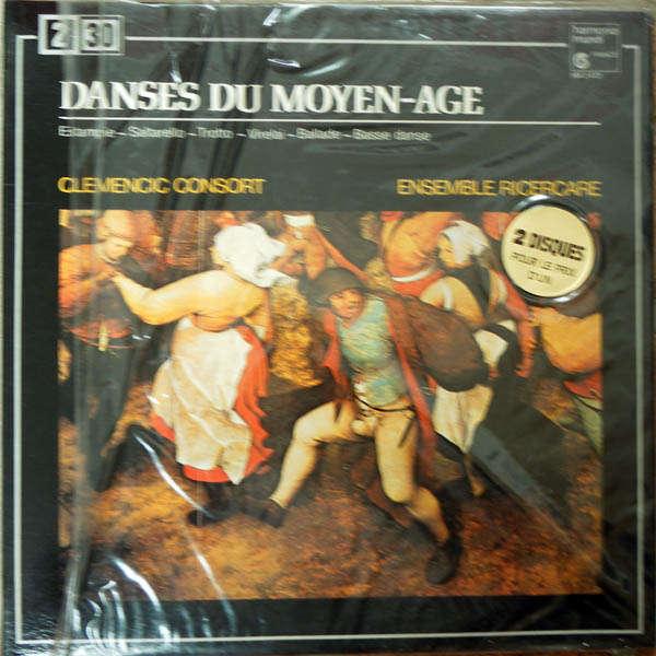 clemencic consort Danses du moyen-âge