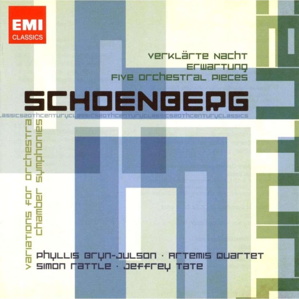 Schoenberg, Arnold EMI 20th Century Classics / Artemis String Quartet, City  of Birmingham SO, Simon Rattle