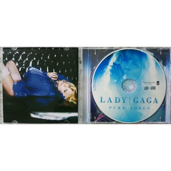 lady gaga Pure Songs (Brazil release 2018)