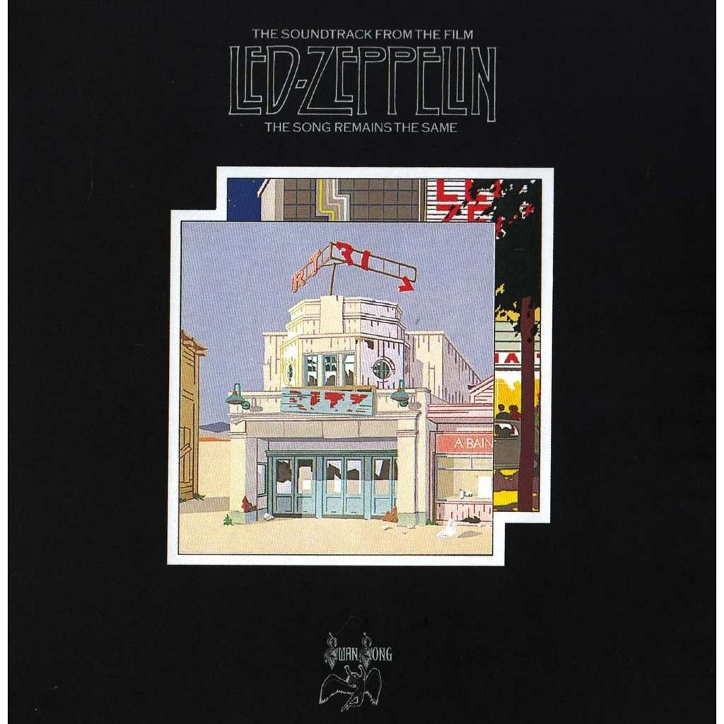 led zeppelin The Song Remains The Same German 2003, Remastered