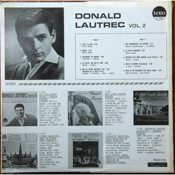 Donald Lautrec mes plus grands succès vol 2