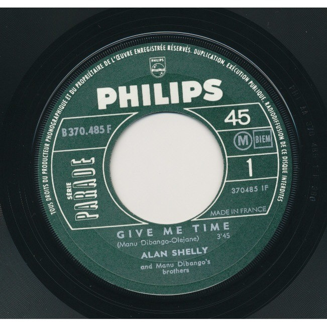 ALAN SHELLY AND MANU DIBANGO'S BROTHERS give me time - lady black wife