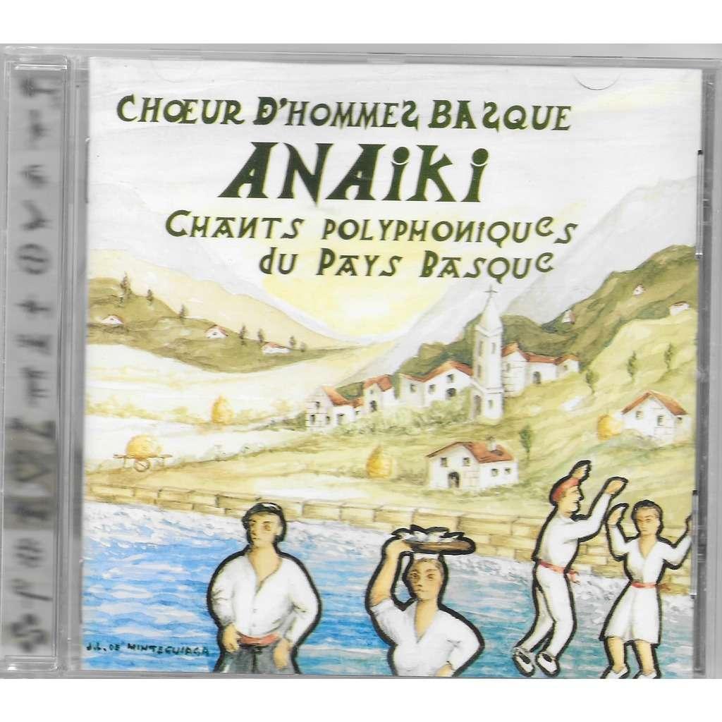 anaiki choeur d'hommes basque / gizon abesbatza