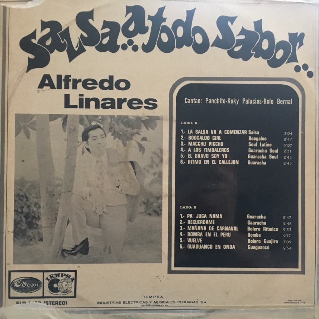 Alfredito Linares Salsa a todo sabor