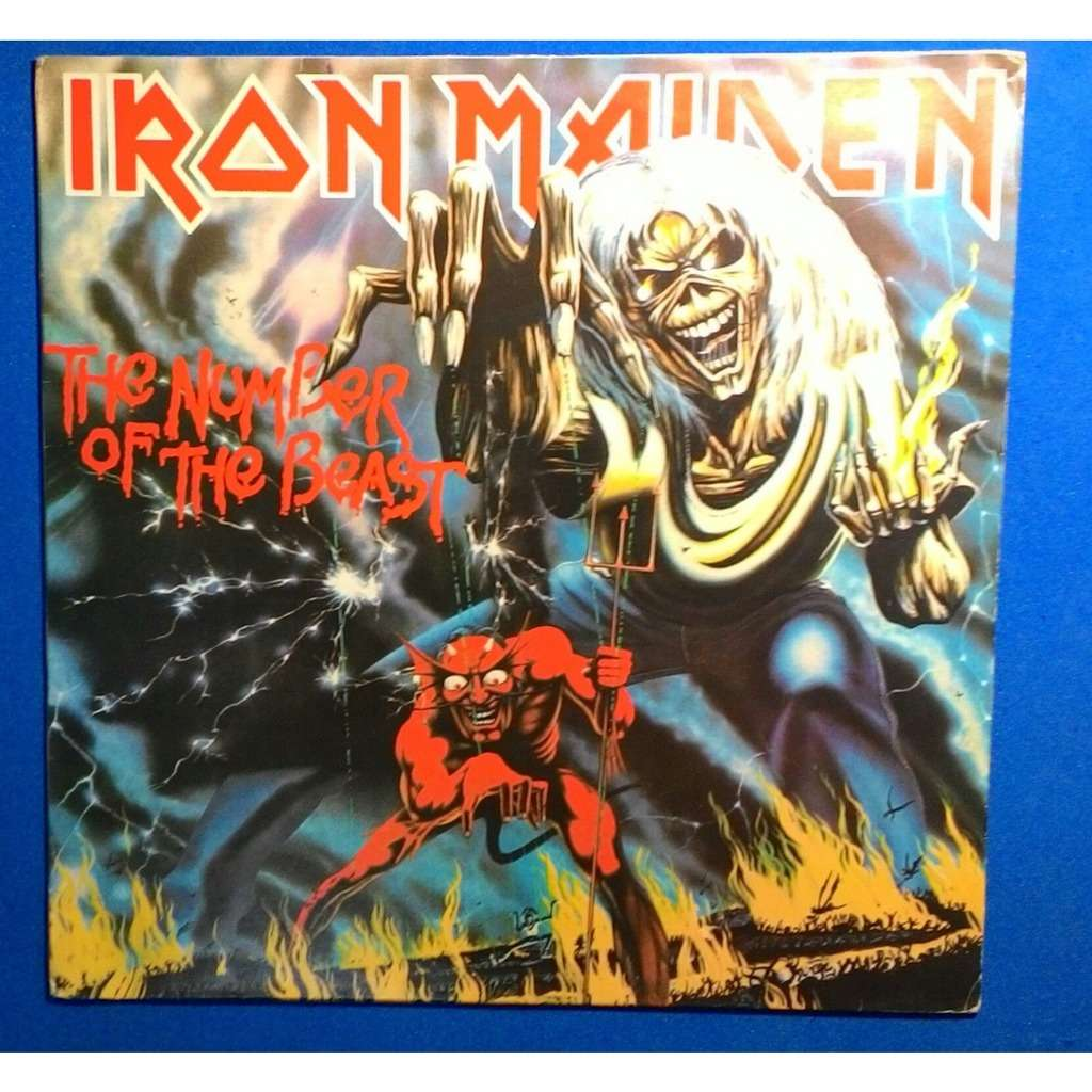 the number of the beast brazil release 1982 iron maiden lp