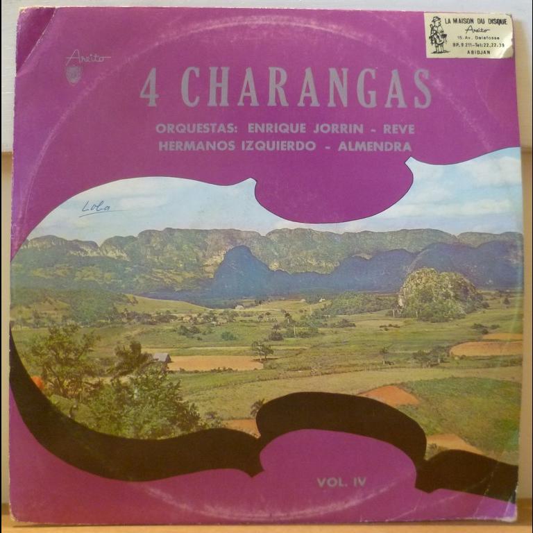 V-A feat. ORQUESTA REVE, ENRIQUE JORRIN 4 Charangas VOL. 4
