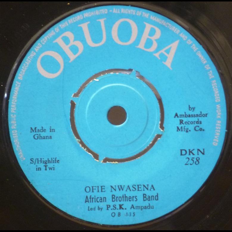 AFRICAN BROTHERS BAND Ofie nwasena / Mesu me mmboro mu