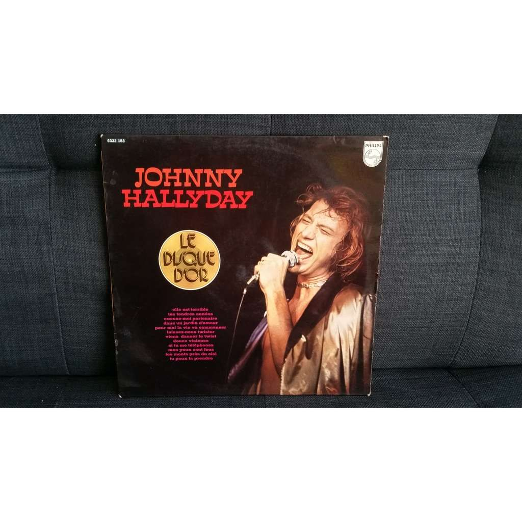 johnny hallyday disque d'or Philips Elle est terrible