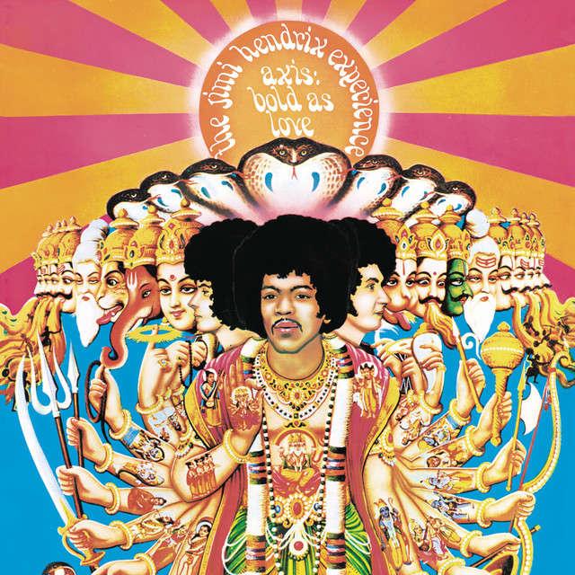 Jimi Hendrix Axis : bold as love