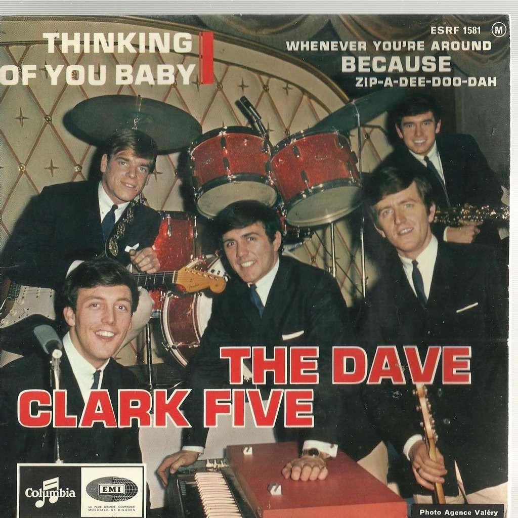 Thinking of you baby - Dave Clark Five - ( 7'' (EP) ) - 売り手 ...